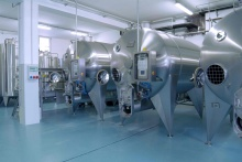 Horizontal fermentation tanks