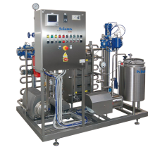 Pasteurizing units for fruit juices
